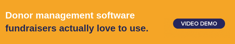 Get a free demo of the Bloomerang software.